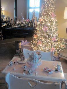 Christmas tea party! So precious.
