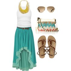 Turquoise is such a summer color...I love!