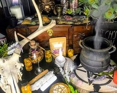 WITCH BOXES & KITS Wooden Box styles by TowneWitchCreations Crystals And Gemstones, Stones And Crystals, Witchcraft Supplies, Witch Jewelry, Wooden Boxes, Wicca, Wands, Thrifting, Kit
