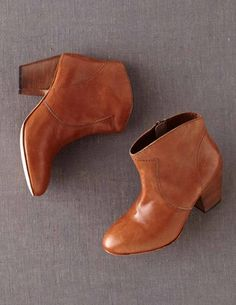 I've spotted this Boho Boot Dark Tan Brown Leather Ankle Boots, Leather Heels, Crazy Shoes, Me Too Shoes, Boho Boots, Bohemian Shoes, Dark Tan, Outfit Maker, Clothes For Sale