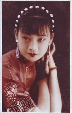 Chinese Glite Gabo 民国第一美女胡蝶Hu Die