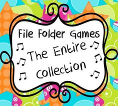 Elementary Music File Folder Games: The Entire Collection