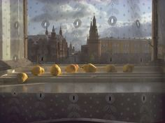 Pears in Window, Moscow  Photograph by Sam Abell, National Geographic