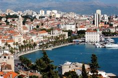Split, Croatia.. been there,than that. it is a great city to visit
