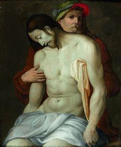 Le Christ dans les bras de Joseph d'Arimathie par Pontormo (Jacopo Carucci)