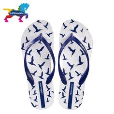 67561c5c9 Hotmarzz Women Fashion Platform Wedges Flip Flops Seagulls Animals Beach  Summer Thong High Heel Sandals Slippers