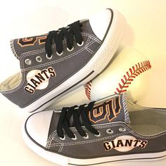 San Francisco Giants Converse Style Shoes - http://cutesportsfan.com/san-francisco-giants-designed-sneakers/