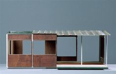 Jean Prouvé Maisons à portiques axiaux, variante 1939