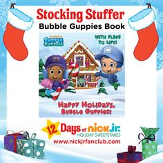 """'Tis the season to read! Check out """"Happy Holidays, Bubble Guppies!"""""""