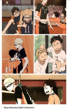 Tag yourself I'm Noya in the top left <<< I'm all of them...