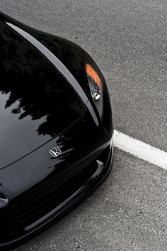 #Honda #S2000 Black enhanced appearance with Car #Grilles http://www.zunsport.com