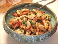 James Beard's Broiled Shrimp Appetizer- Olive oil is only for the marinade so I don't think it's a problem here. Use Tamari instead of soy sauce. FMD Fast Metabolism Diet P3