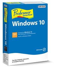 Learn to use Windows Interactive software teaches all the new features of Windows 10 operating system. Beginner to advanced topics. Windows 10 Tutorials, Hd Video Converter, Training Software, Using Windows 10, Windows 10 Operating System, Running Songs, Tablet 10, Grey's Anatomy, Teaching