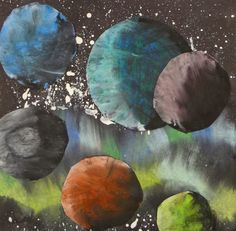 These stellar galaxy compositions by 4th grade blow me away every year! Arent they gorgeous? The...