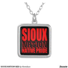 SIOUX NATION-RED