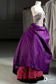 * Robe soie automne hiver 1992/93 - Christian Lacroix