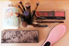 City Girl Vibe Beauty Haul #Haul #Beauty #Makeup #Blog #Pink #Makeupbrushes #UrbanDecay #UD #Makeuppalette #Blogger