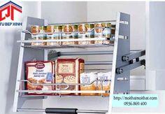 Kệ kéo 2 tầng âm tủ bếp trên - MSP: PTJ018