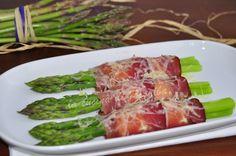 asparagi consigliamo quelli viola di albenga al forno con speck