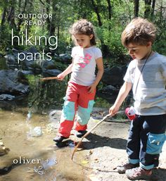 Customized Oliver + S Field Trip Cargo Pants into hiking pants