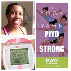 Day 1: PiYo Sweat workout!  I did this workout at 5:30am and I was dripping sweat in my living room. It feels good to be back!