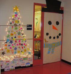 christmas door decorations - Google Search