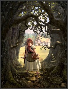 She had been warned to stay out of the Wood, but she never listened to what she was told.~Chris Beatrice