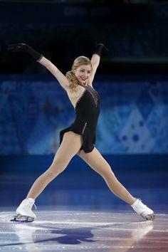 Gracie Gold - Figure Skating Exhibition Gala - Sochi 2014
