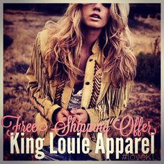 Free Ship offers on all orders $50 & Up!! www.shopkinglouie.net ❤️ #loveKL