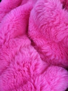 I love how this fur is foe and has such is such a brute shade of pink. Definitely pops!
