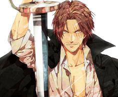 Render One Piece - Renders Shanks le roux yonkou