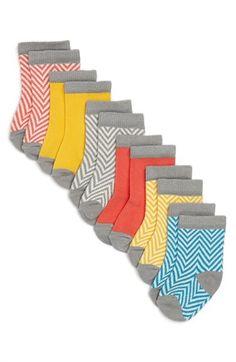 Stem Baby Patterned Socks (6-Pack) (Baby Girls) | Nordstrom