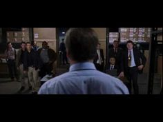 The Departed - stellar cast, stellar acting.  Alec Baldwin delivers one of the best lines in the film:    Ellerby: I'm gonna go have a smoke right now. You want a smoke? You don't smoke, do ya, right? What are ya, one of those fitness freaks, huh? Go fuck yourself.