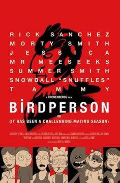 'Bird Person' Poster by Diego Pedauyé Cartoon Memes, Cartoons, Get Schwifty, Force Of Evil, Rick And Morty, Best Tv Shows, Just For Laughs, Bird, Awkward
