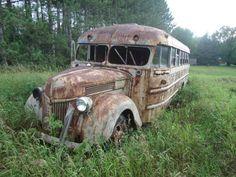 1940 Antique Camper School Bus 3922 - Antique Buses - Buses for Sale