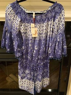 bc9738a7182 Anthropologie Raga Jumper Romper Purple Size Small New With Tags  fashion   clothing  shoes