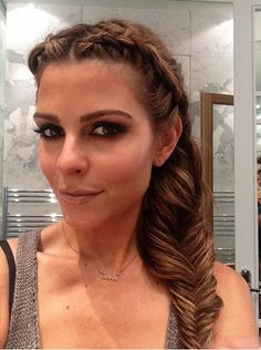 Double braid fishtail #mariamenudos