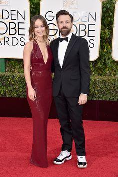 Olivia Wilde and Jason Sudeikis   - HarpersBAZAAR.com
