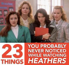 """23 Things You Probably Never Noticed In """"Heathers"""""""
