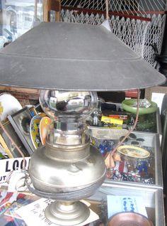 Oil Lamp Victorian HangingStoreLampC1880ec A RareCat's Treasure, PICK UP ITEM  #Victorian