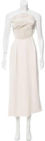 Opening Ceremony Strapless Open Back Dress w/ Tags
