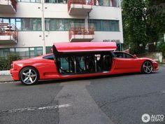 Ferrari Limousine » Biskvitka.net