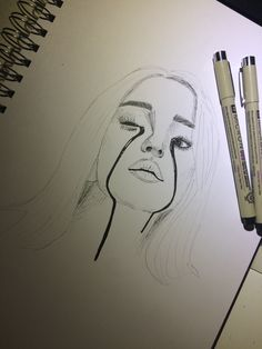 billie eilish portrait Most current No Cost portrait drawing nose Concepts There are several strategies for sketching portraits. Some which often function quite nicely as well manage to step-aro Sad Drawings, Cool Art Drawings, Pencil Art Drawings, Art Drawings Sketches, Drawings Of Sadness, Sketch Art, Art Du Croquis, Billie Eilish, Art Sketchbook