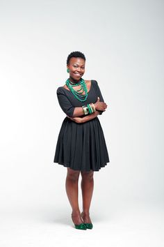Sthandiwe Kgoroge (actress, TV director, fashion entrepreneur)