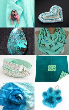 Mint by Irina on Etsy--Pinned with TreasuryPin.com