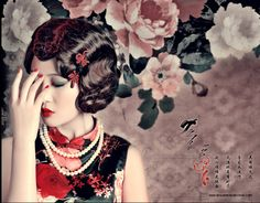 Hairstyles of the roaring in Shanghai. Well, I've got the fair, fair skin… Shanghai Girls, Shanghai Night, Old Shanghai, Vintage Hairstyles, Wedding Hairstyles, Gangster Wedding, Oriental Wedding, 1920s Hair, Calendar Girls