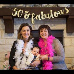 We love seeing your banners! How cute is this picture?!! #50andfabulous