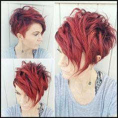10 sehr stilvolle kurze Frisur für Frauen - Frisuren Stil Haar | Einfache Frisuren