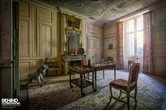 Abandoned French Chateau - Games Room
