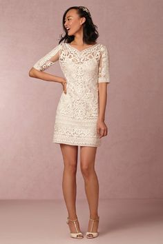 Marcía Dress (BHLDN) $140 (was sold out - but may get more...) NOTE: May be too short/not knee length?